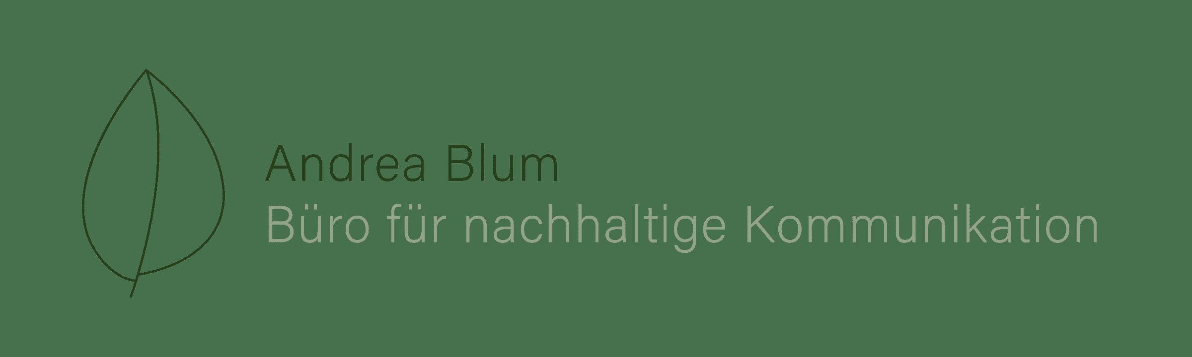 Andrea  Blum | Büro für nachhaltige Kommunikation